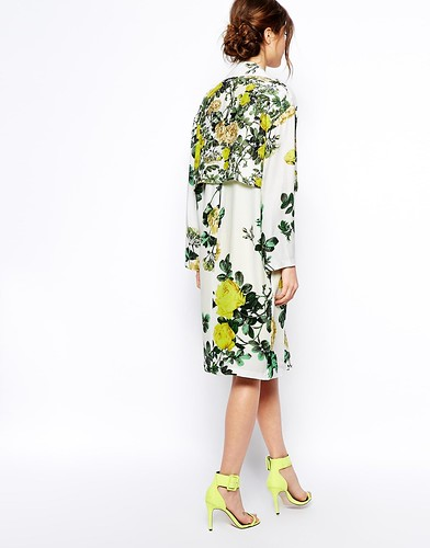 ASOS Botanical Trench