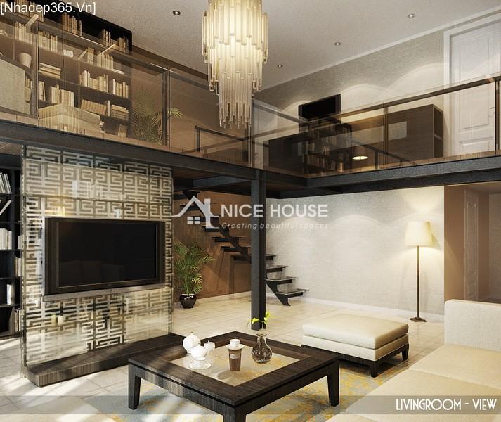Thiết kế nội thất căn hộ Hàng Trống - Hà Nội_12
