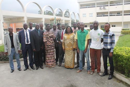 PAES-UEMOA/ Remise d'ouvrages aux Universités et Grandes écoles publiques ivoiriennes.