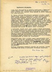 113. Feljegyzés a Magyar Országos Levéltár adatai alapján a Habsburg családnak a II. világháború előtt kifizetett összegekről
