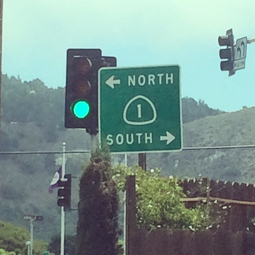 South today, please! #highway1 #kategoestocalifornia