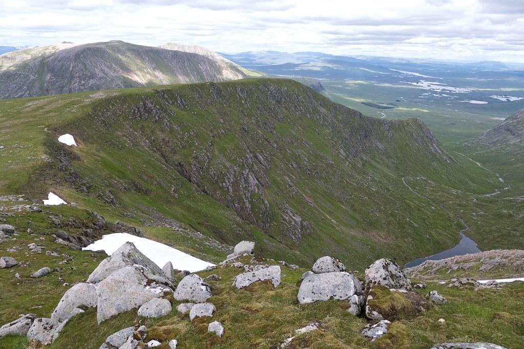 Coire Lochain on Stob Ghabhar