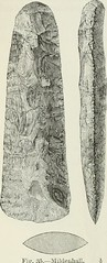 """Image from page 101 of """"The ancient stone implements, weapons, and ornaments, of Great Britain"""" (1872)"""