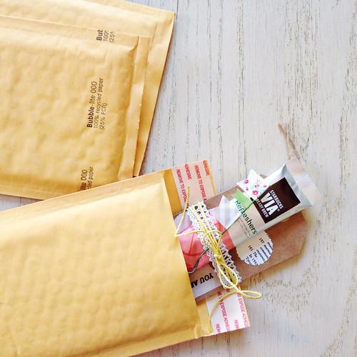 snail mail DIY | yourwishcake.com