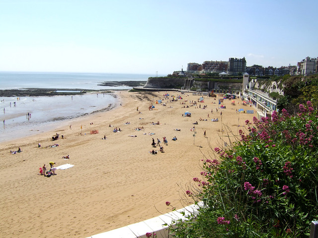 The beach at Broadstairs