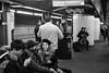 """Platform Audience Brookyn, NY 2017 . . . . #streetphotographer #nyc_streets #newyorkcity #newyorknewyork #MyFujifilm #fujifilm #picoftheday #subway #Mta #storyofthestreet #nyspc #gothamist #citylife #sooc #queens #heartofqueens #GrimSanto #NewYorkCity #NY by Santos """"Grim Santo"""" Gonzalez"""