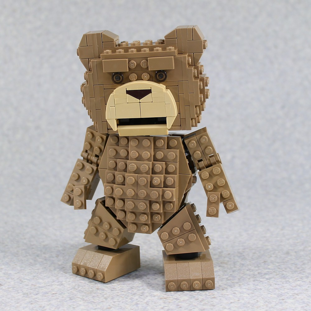 Ted (custom built Lego model)