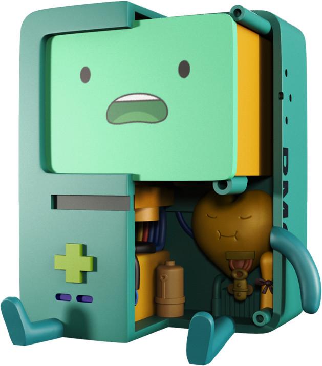 MightyJaXX × Jason Freeny XXRAY系列《探險活寶》嗶莫 XXRAY Adventure Time BMO
