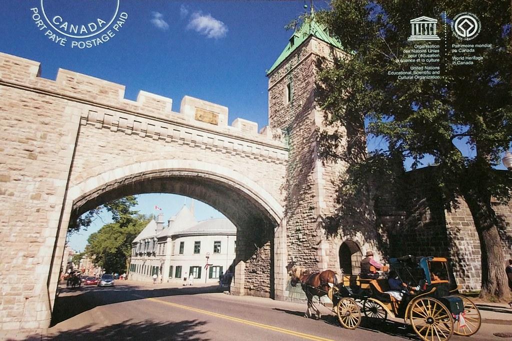 Canada - Quebec - Quebec city - UNESCO site