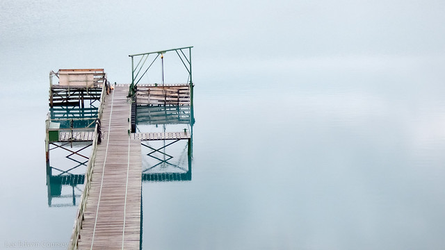Early Morning Dock, Patagonia, Panasonic DMC-FZ70