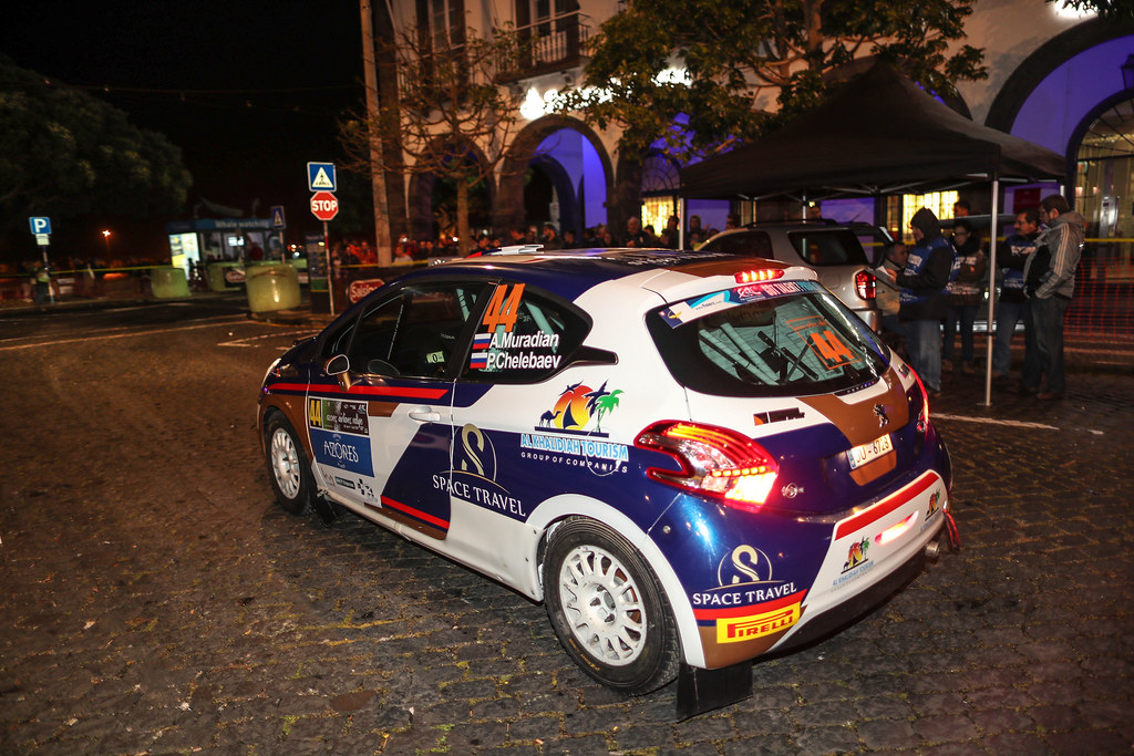 44 MURADIAN  Artur CHELEBAEV Pavel Peugeot 208 R2 Action during the 2016 European Rally Championship ERC Liepaja rally,  from september 16 to 18 at Liepaja, Lettonie - Photo Jorge Cunha / DPPI
