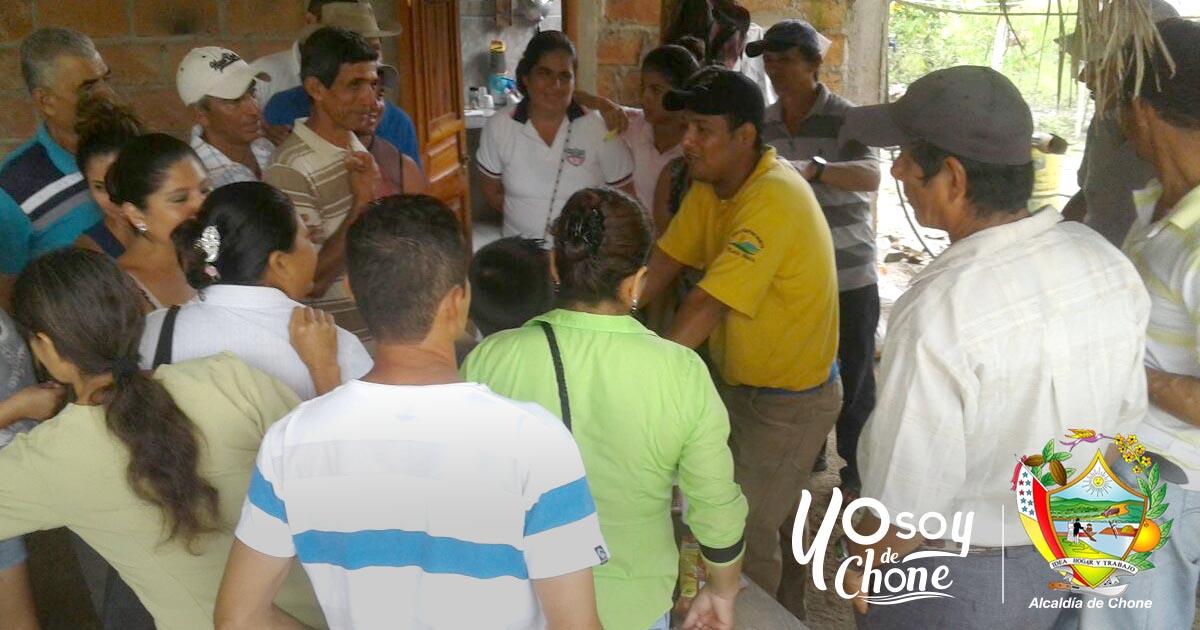En las Habras de la parroquia Canuto de Chone se realizó día productivo