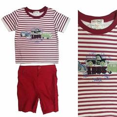 #set #cotton #boyset #suit #summer #son #boys #babyboy #sweet #kidsfashion #fashionkids #cute #kids #handsome #accessories #бренд #детскаяодежда #оптом #wholesale #ملابس_اطفال #موسم_الشتاء #الجملة #truck #trucks ~~~~ ,❤⭐👕👍 new u