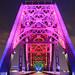 Big Four Bridge at Night by wildcatjon2000