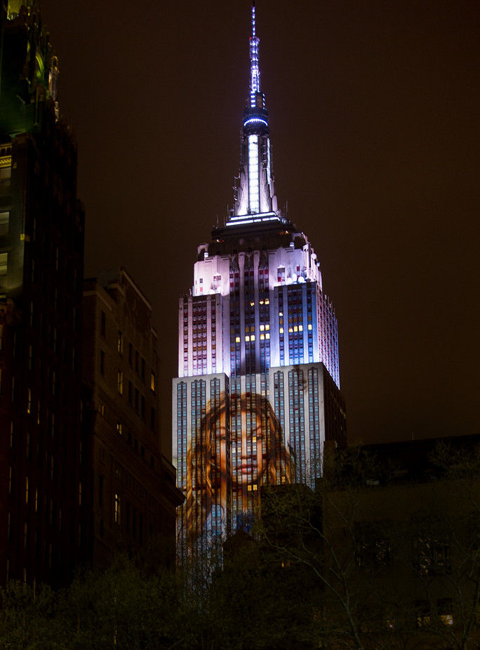 Harpers Bazaar 150th Empire State Building Show