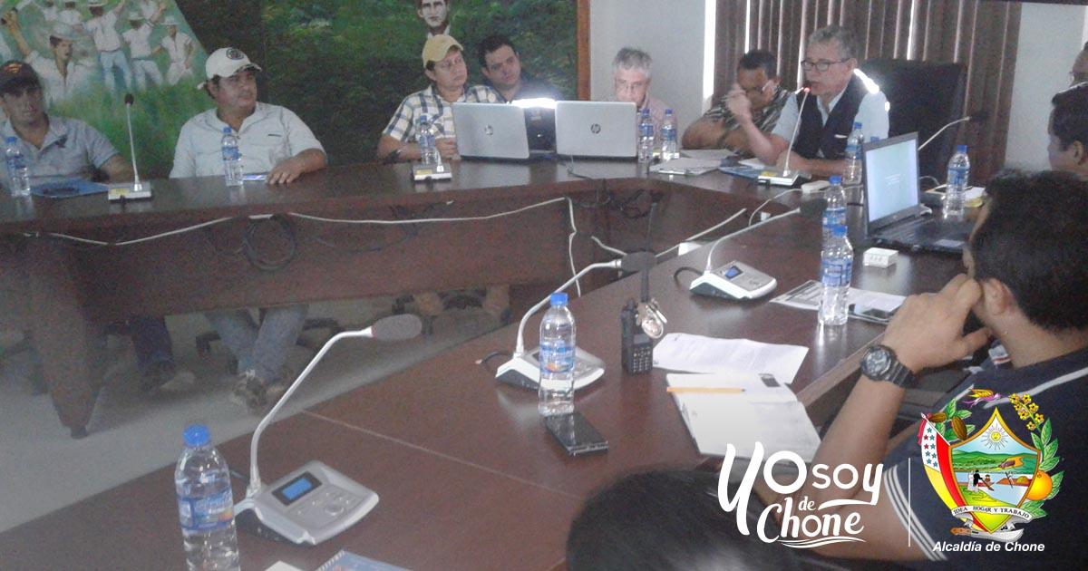 COE de Chone aprobó plan de contingencia por feriado de Semana Santa
