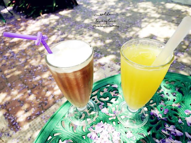 新北淡水三芝紫藤咖啡園用餐價位飲料