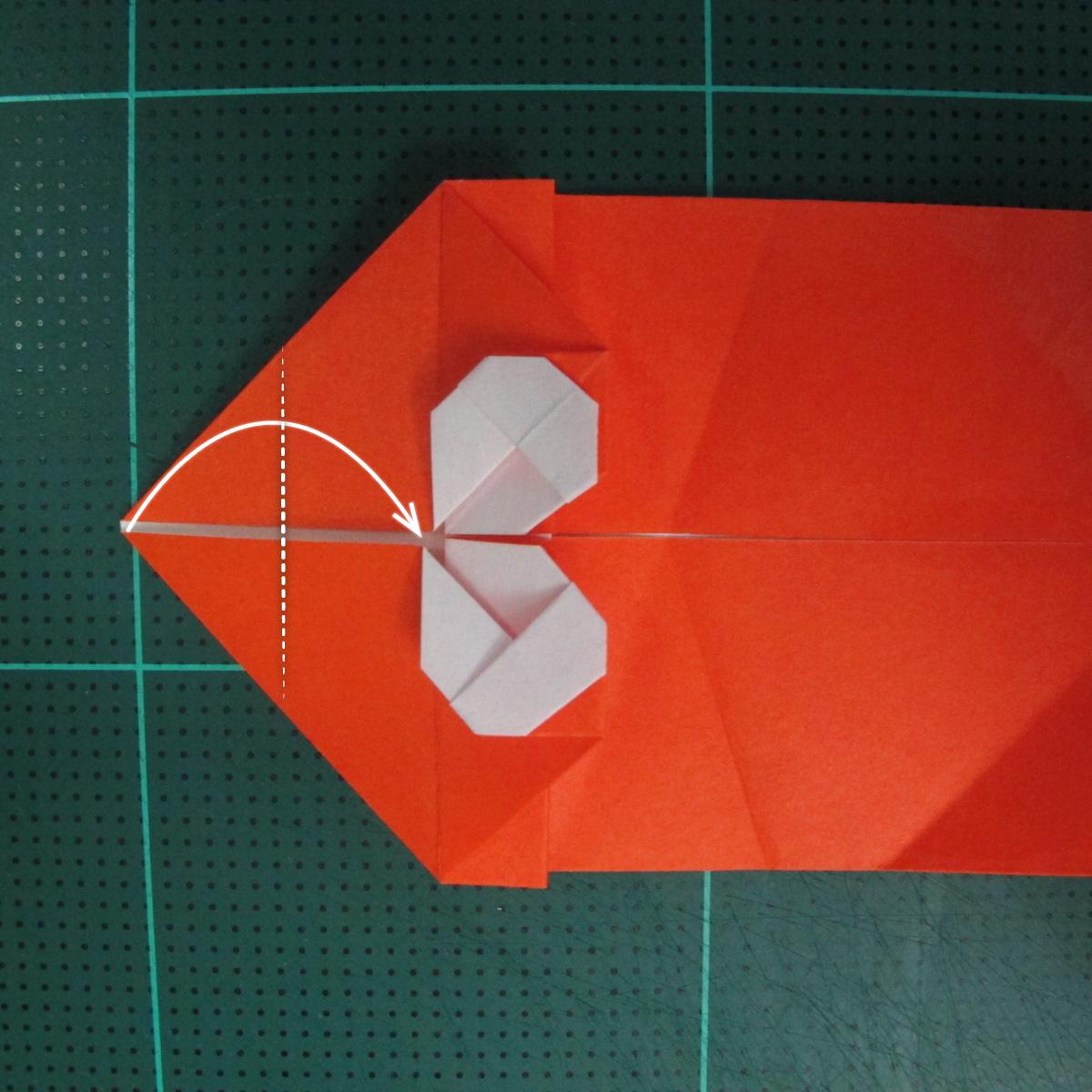การพับกระดาษเป็นรูปปลาทอง (Origami Goldfish) 013