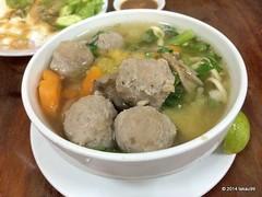Meatball Soup Noodle