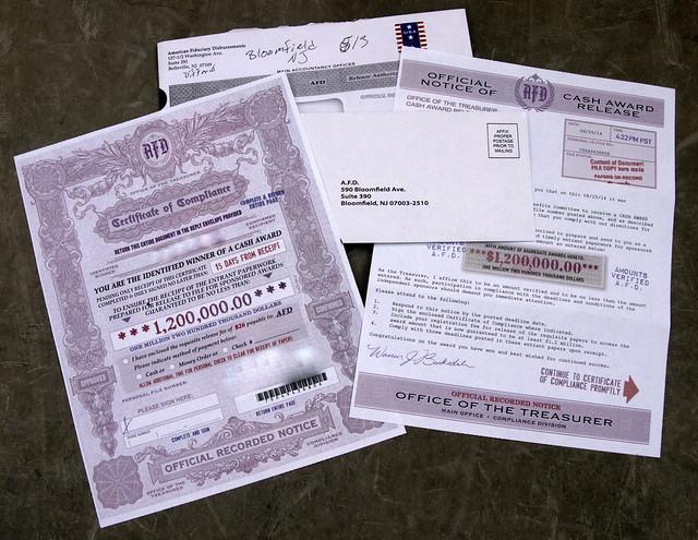 American Fiduciary Disbursements, Bellevill, NJ