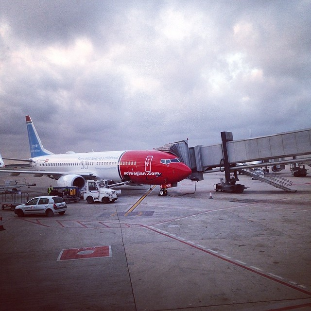 Leaving.. #igtravelthursday #norwegian