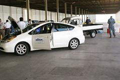 automobile, vehicle, automotive design, compact car, toyota prius,