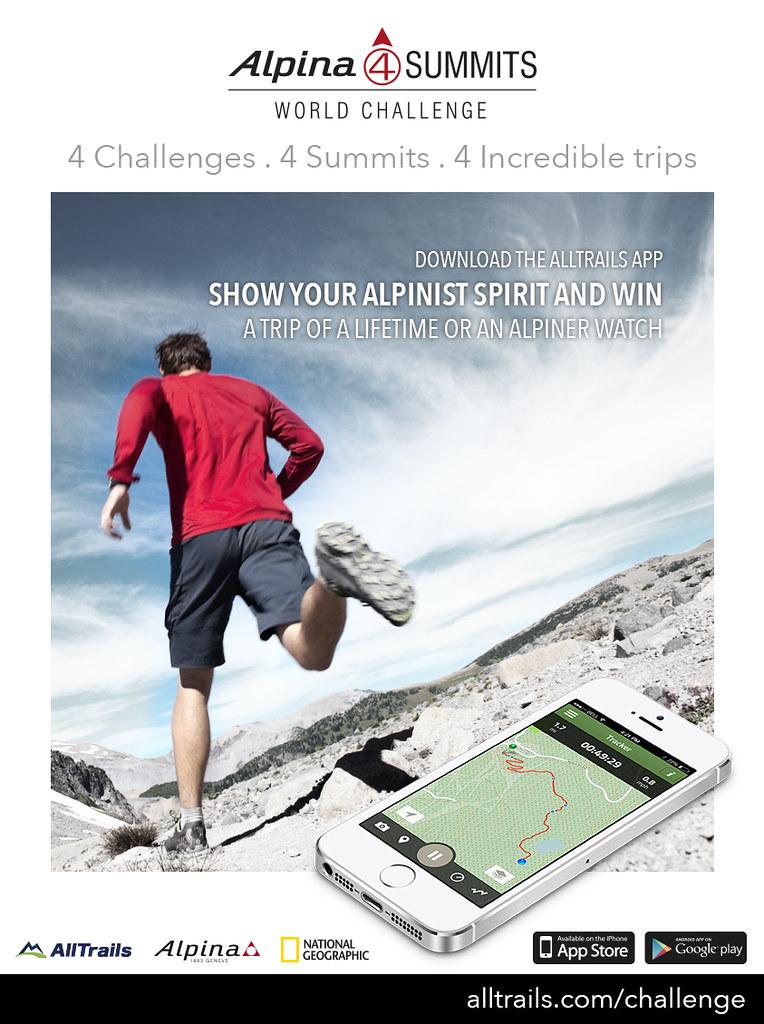 The Alpina 4 Summits World Elevation Challenge  |