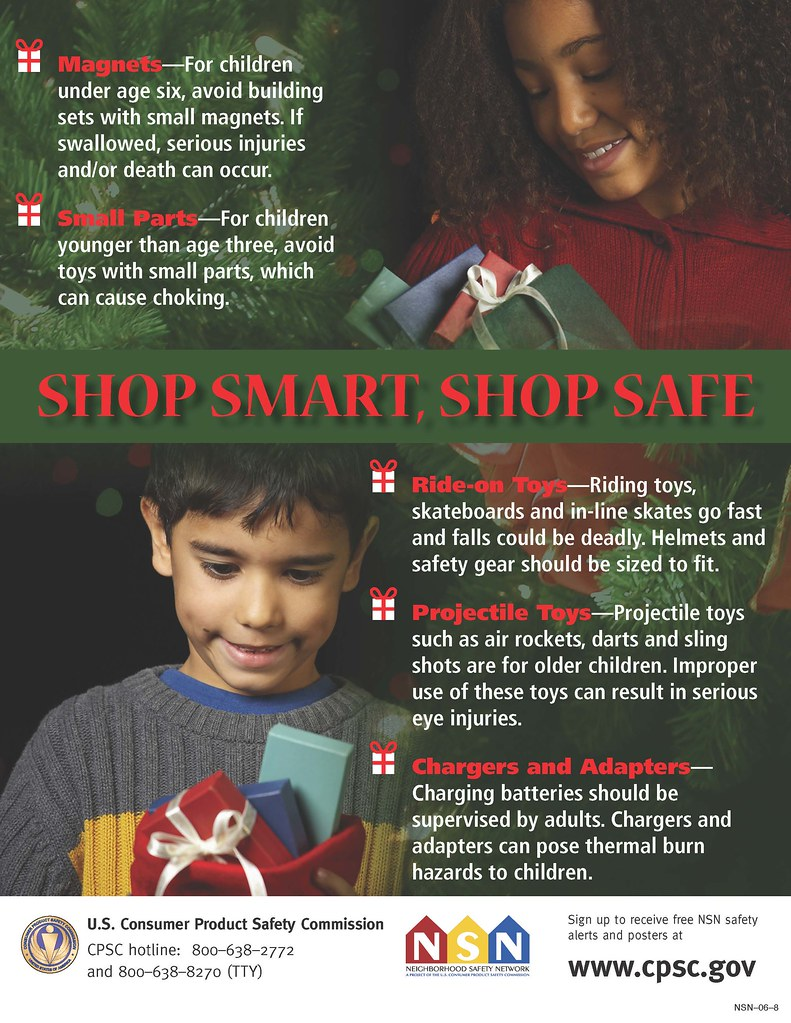 Tips for shopping smart and safe for children's toys