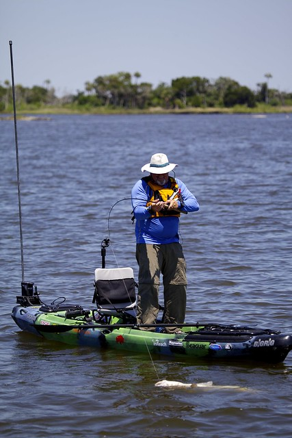 The kayak fishing show visits levy couty florida for Plenty of fish florida
