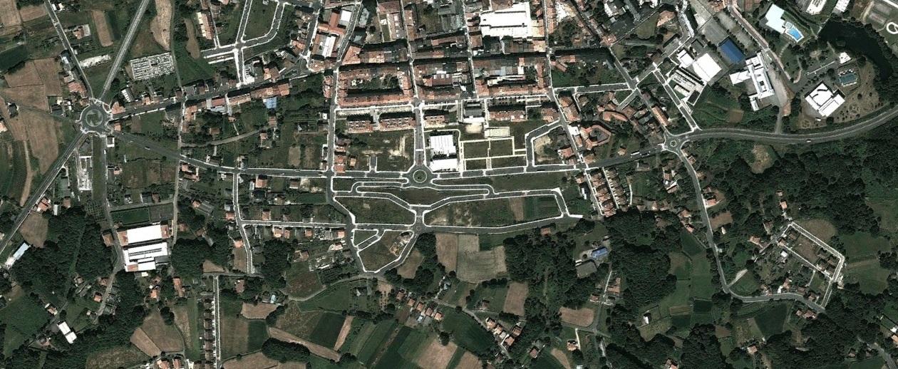 después, urbanismo, foto aérea,desastre, urbanístico, planeamiento, urbano, construcción,Lalín, Pontevedra