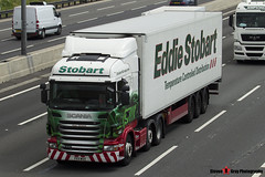 Scania R440 6x2 Tractor with 3 Axle Refrigerated Trailer - PE11 WOH - Poppy Elizabeth - Eddie Stobart - M1 J10 Luton - Steven Gray - IMG_5049