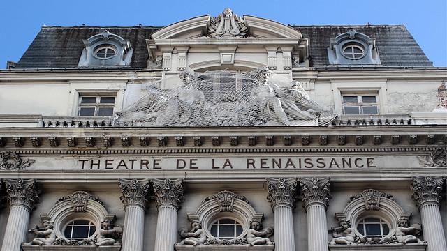 Theatre façade