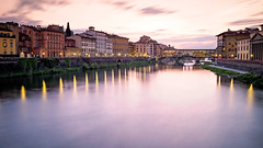 Ponte Vecchio at sunset - Florence