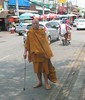 Buddhist Monk at Songkran