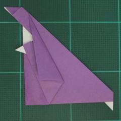 การพับกระดาษเป็นรูปแม่ชี (Origami Nun) 008