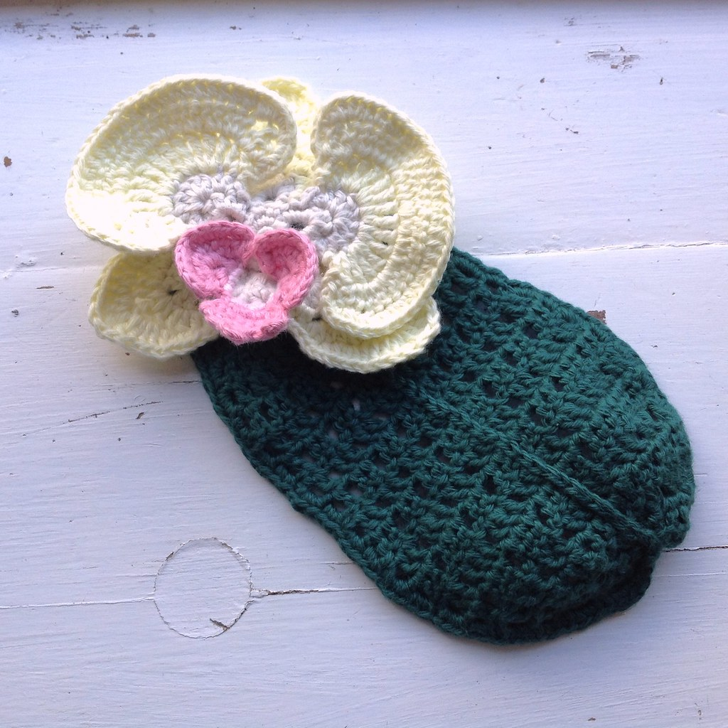 Suvis Crochet: Orchid Leaf
