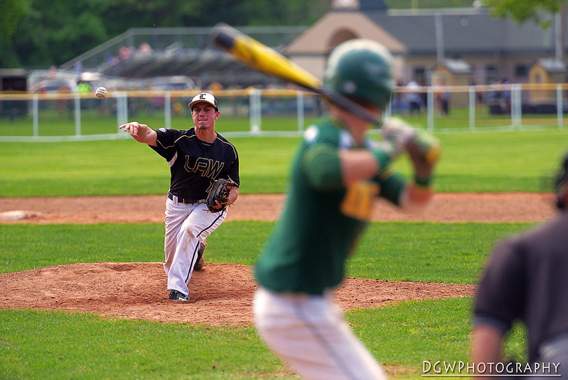 Jonathan Law vs Hamden High Baseball