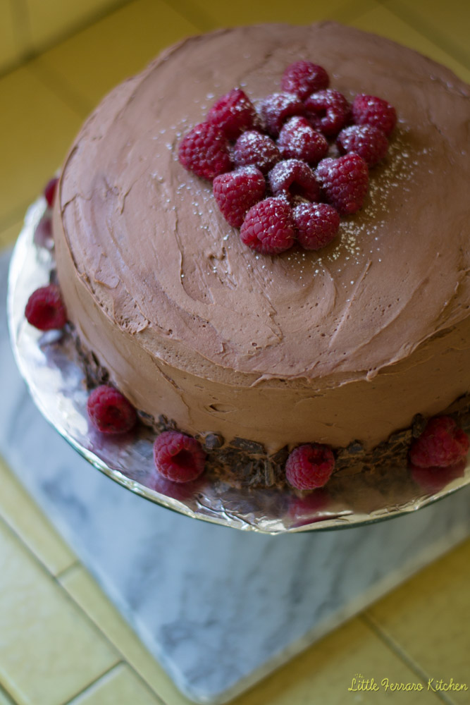 Chocolate Cake via LittleFerraroKitchen.com