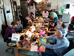 Octoscroller class at NYC Resistor