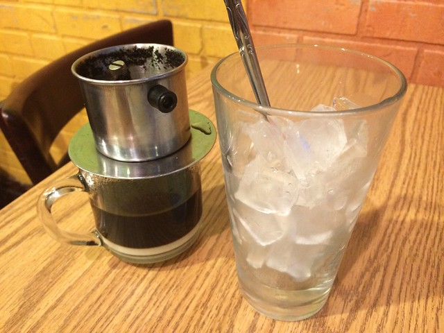 Iced Vietnamese coffee - Sunflower Vietnamese Restaurant