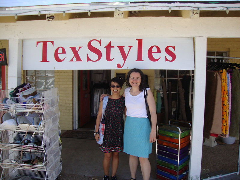 At TexStyles with Antoinette