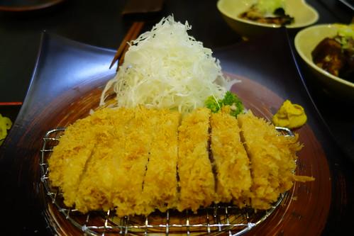 Rosu Katsu at Katsuya. Pork Loin Tonkatsu.