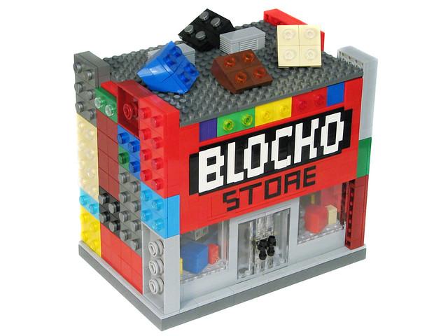 LEGO Springfield - The Blocko Store