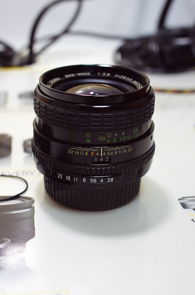 Sigma mini wide 28mm F2.8