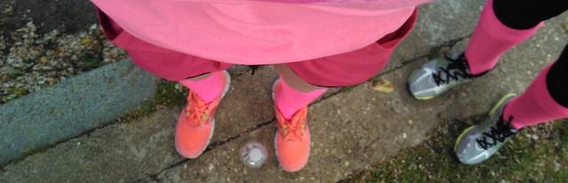 pink footie kit