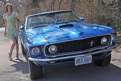 1969 Ford Mustang Photo Shoot