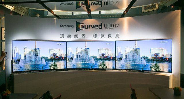 新世代影音饗宴! Samsung 黃金曲面 4K UHDTV 電視螢幕體驗會 @3C 達人廖阿輝