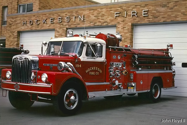 Hockessin fire company delaware engine 19 4 1950 39 s for Bristol motor mile dealerships