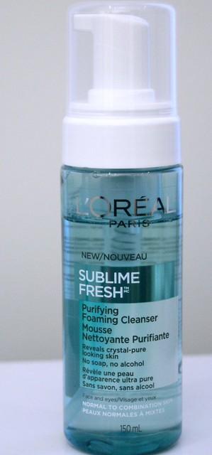 l'oreal-sublime-fresh-mousse-cleanser