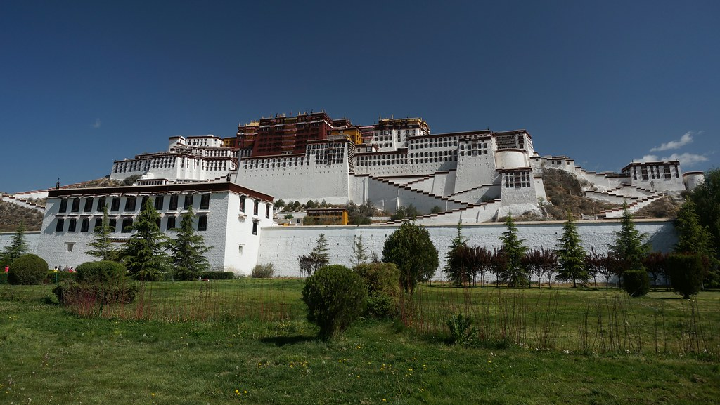 Front of Potala Palace